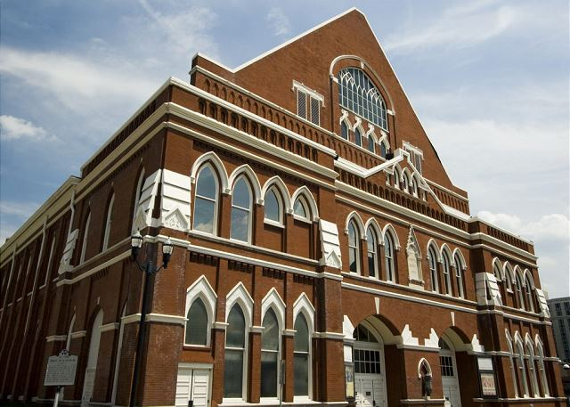 """The Historic Ryman Auditorium, formerly known as the """"Grand Ole Opry"""""""
