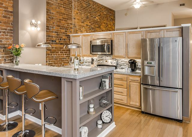 Inviting, Recently  Renovated Kitchen