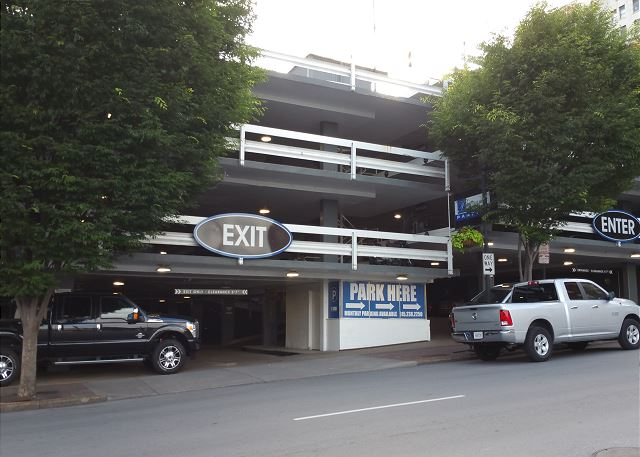 Reserved Parking Space in Covered Garage Across the Street from the Loft is Available to Rent