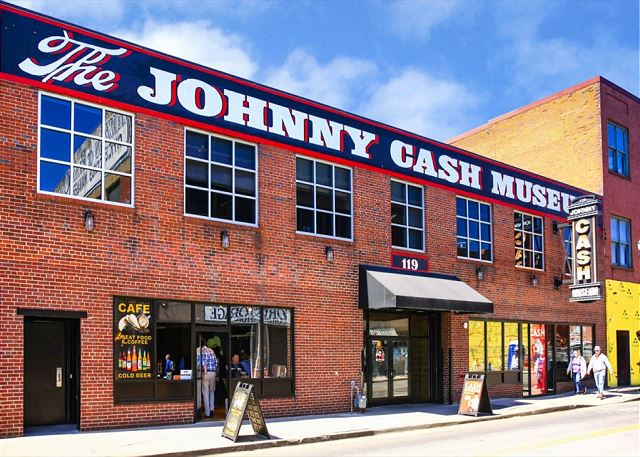 "The Famous Johnny Cash Museum is a few Blocks away from ""Artist's Loft"""