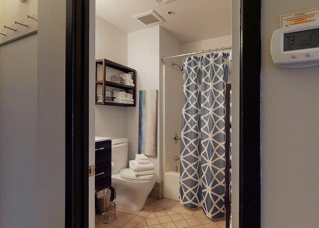 One Full Bathroom