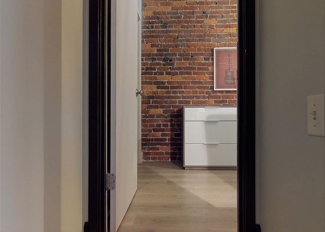 The Master Has More Exposed Brick Walls