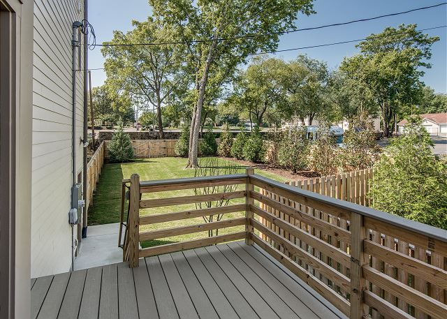 Back Deck Opens to Large, Fenced-in Yard