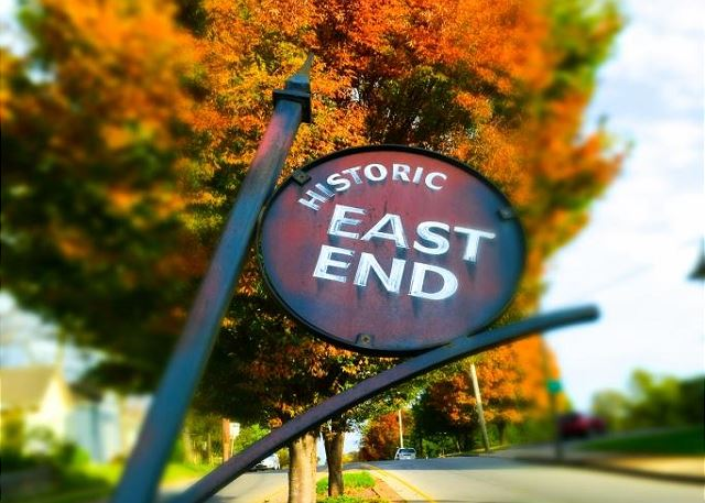 In Eclectic-Hip East Nashville, One Mile from Downtown!