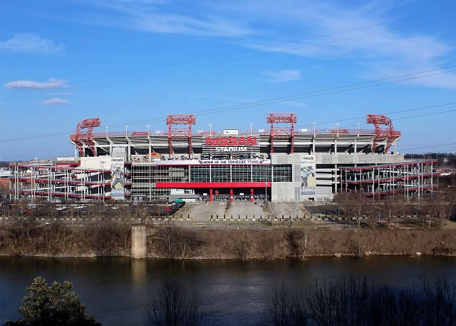 A Picturesque View of Nissan Stadium & Cumberland River Downtown