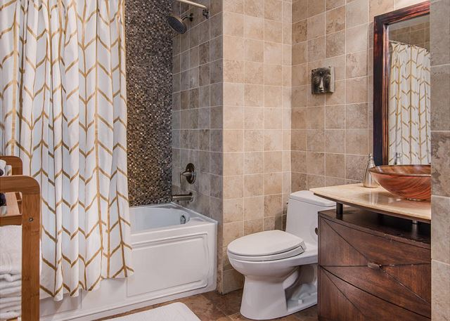 Full Bath with Modern Tile and Finishes