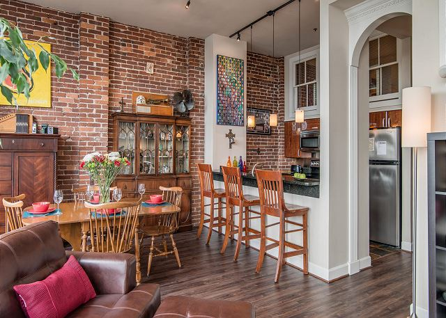 Beautiful Exposed 100+ Year Old, Original Brick Walls