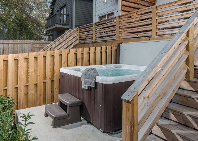 Large, Private Hot Tub