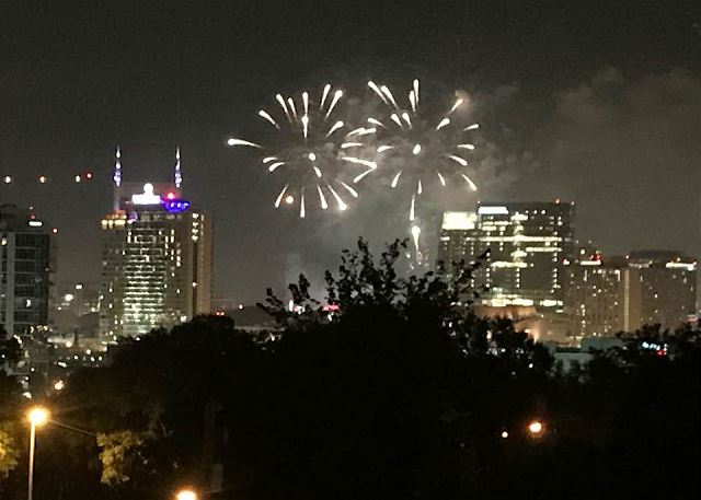 Watch Nashville's Iconic 4th of July Fireworks from the Roof Top Deck!