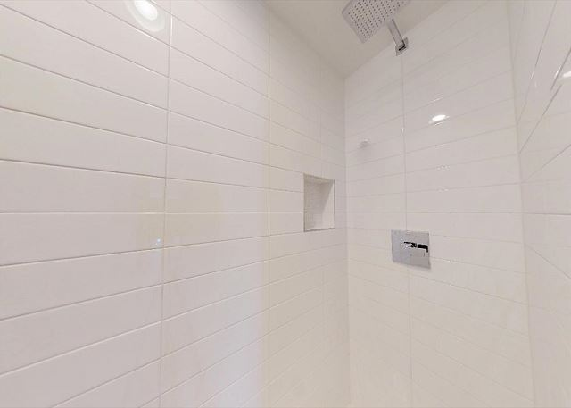 Large, Clean Shower