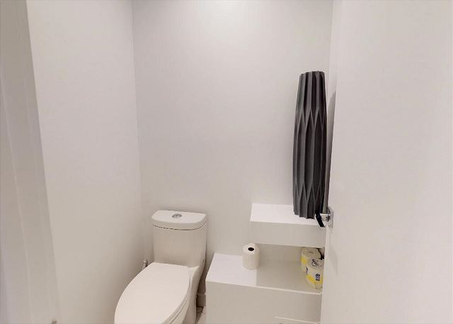 Separate Water Closet with a Door
