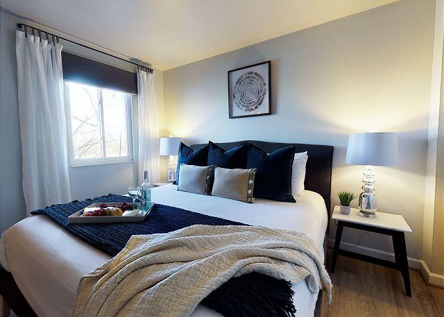 King Bed has a high-end, plush mattress