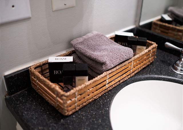 Starter Amenities are Provided!