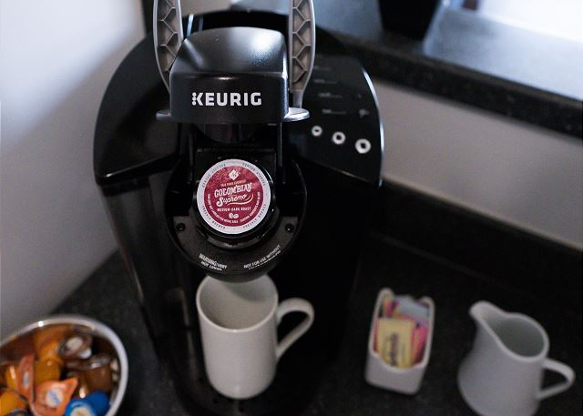 Keurig with Pods Provided!