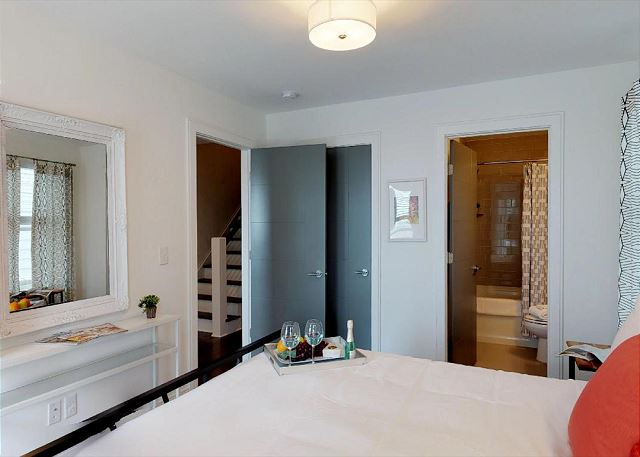 Queen Suite is the Only Bedroom on the Ground Floor, Very Private