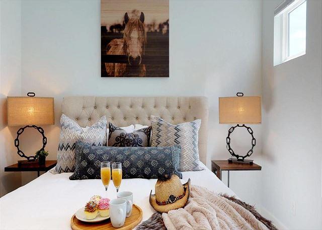 Plush Queen Bed