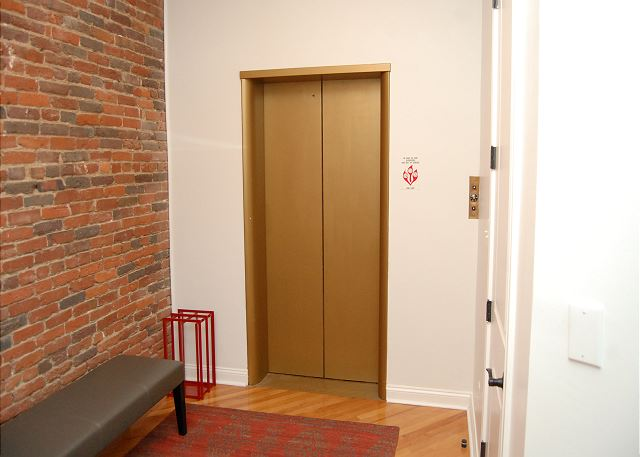 Private Elevator that Opens to Loft