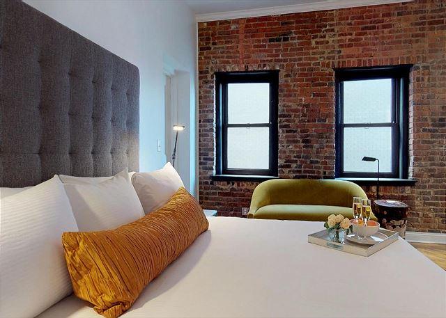 Great Lighting in Master Bedroom