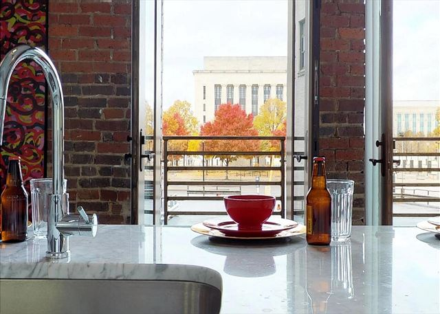 Breathtaking Views From Kitchen