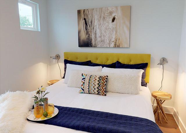 Comfortable Queen Bed in Master Suite