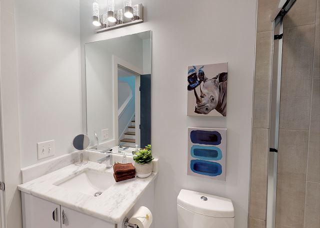 Granite Counter top in bathrooms