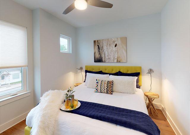 Ceiling Fan in Master Bedroom