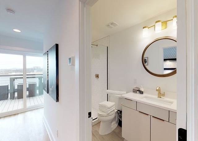 Full Bath Can be Accessed from the Hallway Also