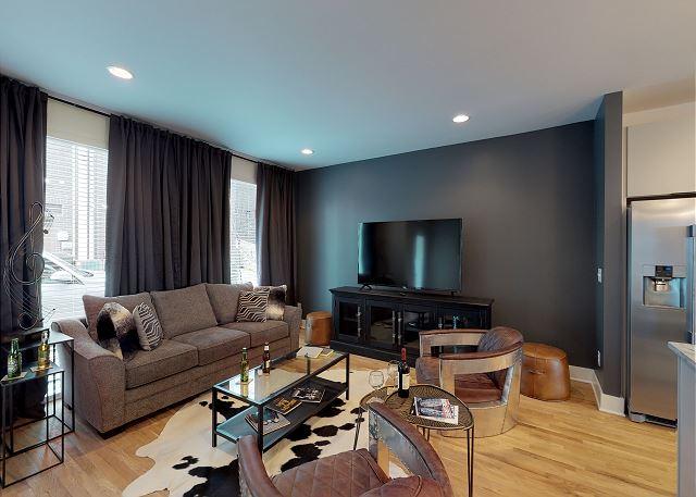 Main Living Area has a Queen Sleeper Sofa