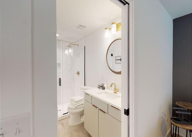 Bedroom 3 Also Has an en suite Full Bath & TV