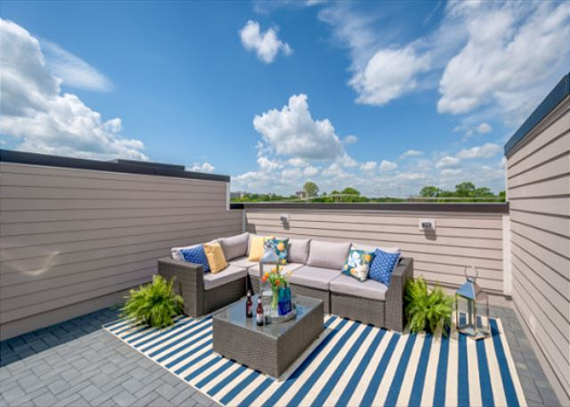 The Row - Hip Location & Roof Deck