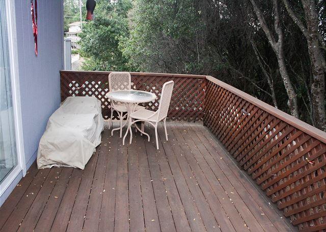 Master bedroom suite patio