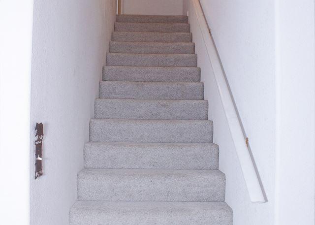 Stairway going upstairs