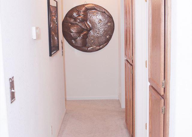 Hall way between bedroom 2&3