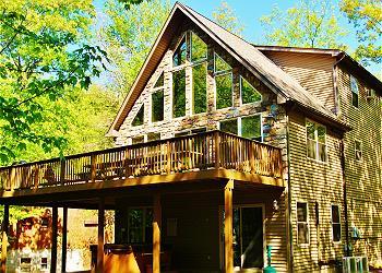 The Top Poconos Vacation Rentals & Cabin Rentals   Pocono Mountain Cross Sch Design Small Cottage House Html on