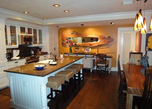 Custom Kitchen and Artwork