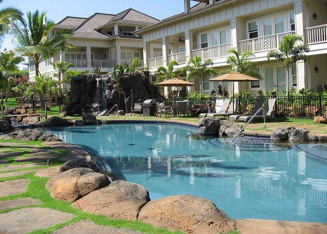 Villas Pool, hot tub & bbq