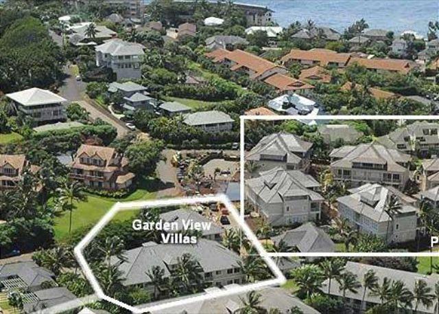 Aerial of Villas