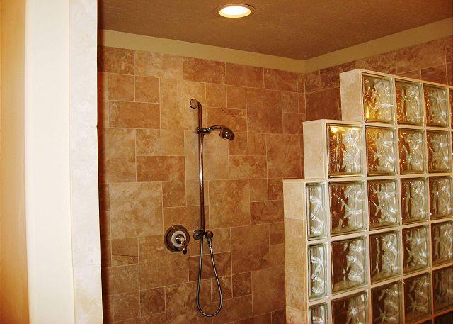 Master Shower for 2