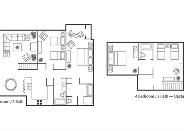 Floor Plan 4 Br Garden