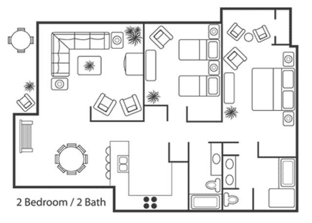 Garden Vew Floorplan