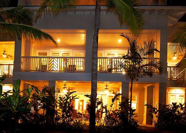 ground floor pool view