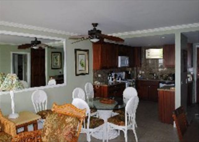 Poipu Shores 306A living area