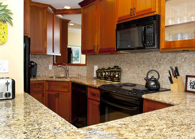 Beautiful, functional, and recently upgraded kitchen. Watch the whales jump while you cook!