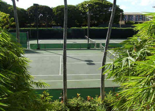 Poipu Kapili tennis courts