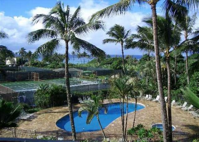 POipu Kai pool, hot tub & tennis
