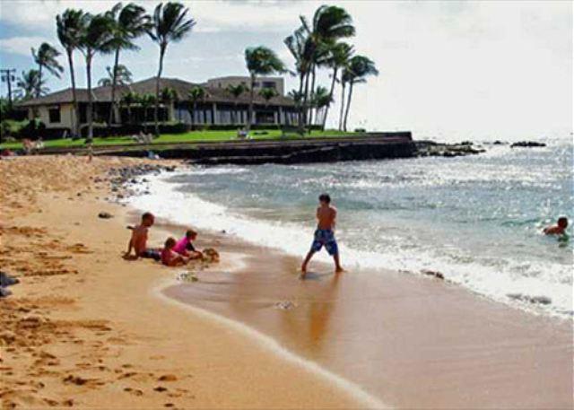 Lawai Beach showing Kuhio Shores 418