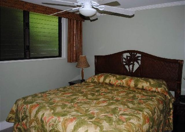 Poipu Shores 306A 2nd bedroom with king bed
