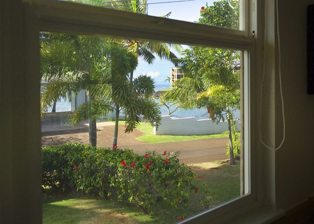 Ho'ona Hale view from dining area