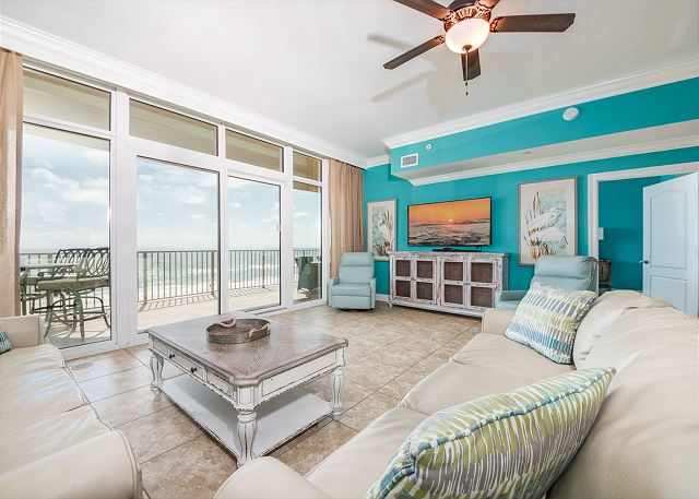 Phoenix Gulf Shores 403 Living room