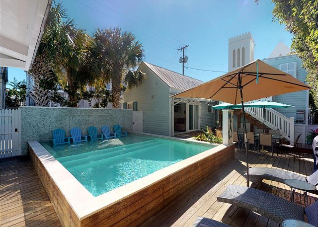 ISLAND TIME - Old Town MONTHLY vacation rental - 5BD/3BA - Private pool